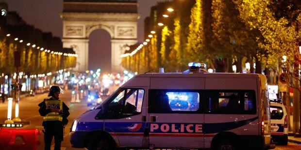 Polizist auf Champs-Élysées getötet