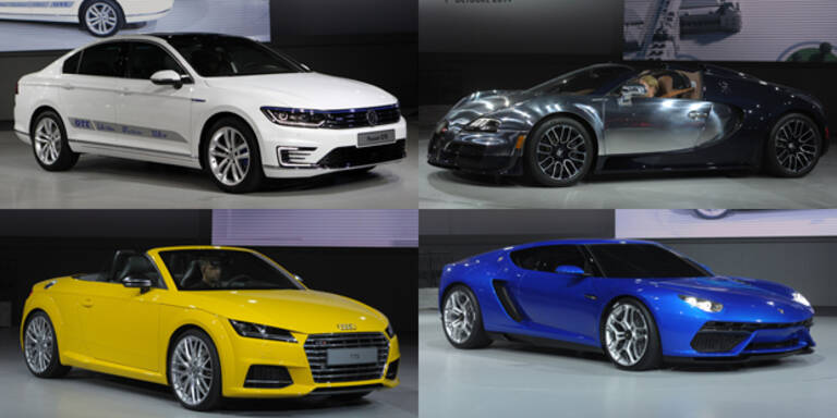 VW-Konzernabend am Pariser Autosalon