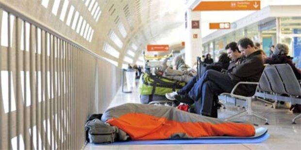 Hunderte saßen auf Pariser Flughafen fest