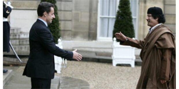Sarkozy und Gaddafi besiegeln Milliarden-Deal