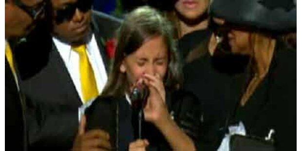 Jacksons Tochter rührt Welt zu Tränen