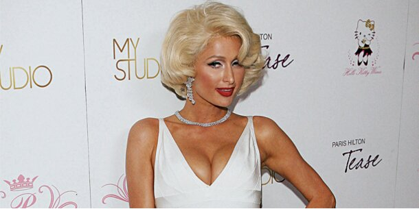 Paris Hilton als heiße Marilyn