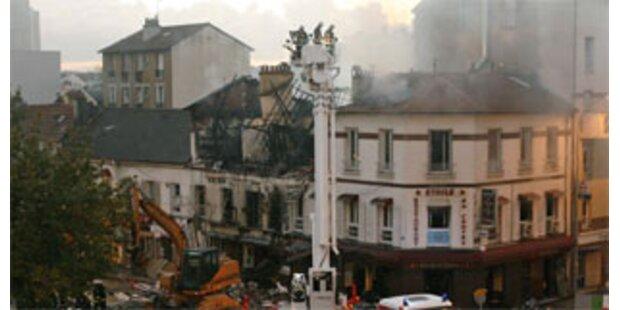 Ein Toter bei Gasexplosion in Paris