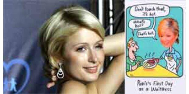 Paris Hilton verklagt Grußkartenfirma