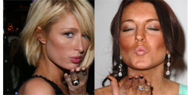 Hilton und Lohan liefern sich Zickenkrieg