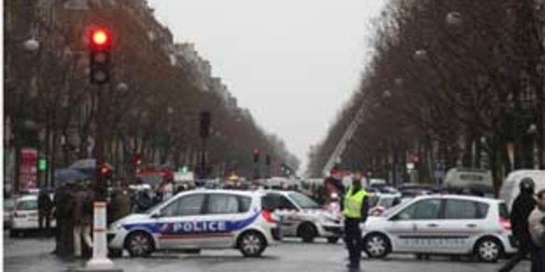 Der Boulevard Malesherbes kurz nach der Explosion