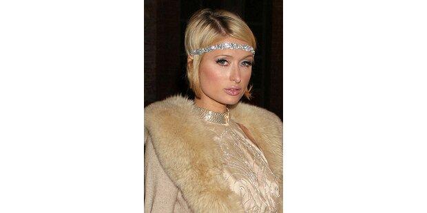 Paris Hiltons Haarlänge wechselt schnell