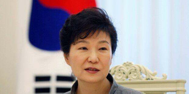Südkoreas Präsidentin des Amtes enthoben