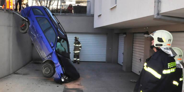 Unfall nach Anfall: abgestürzt