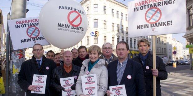 Widerstand gegen Parkpickerl wächst