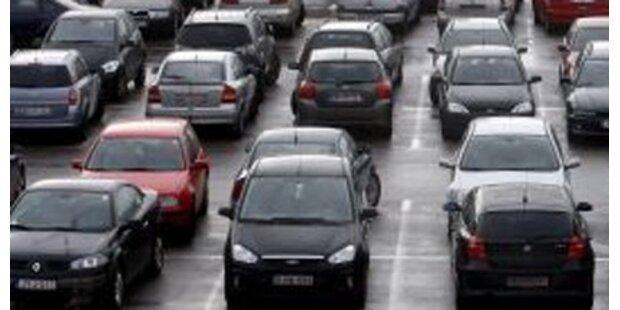 Reservierte Parkplätze für Bezirksbewohner