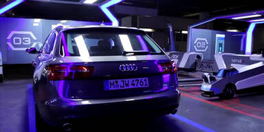 Video: Dieser Roboter parkt Autos ein
