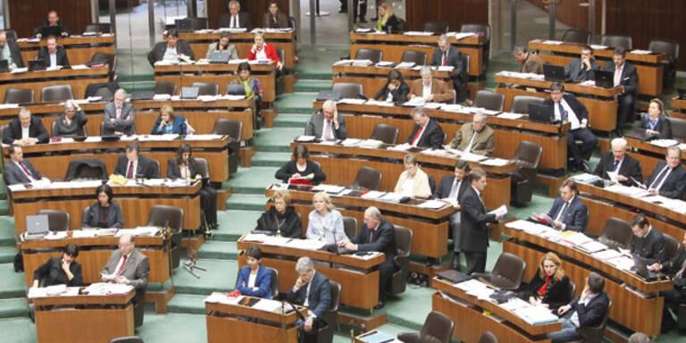 Neue Gesichter im Parlament