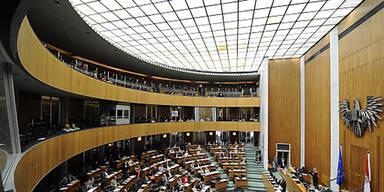 Glasdach Parlament