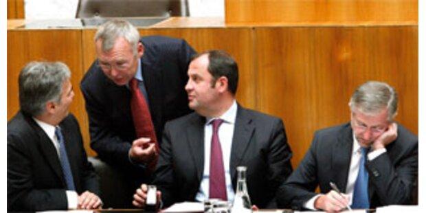 Parlamentsparteien gönnen sich mehr Geld
