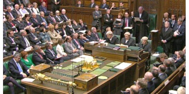 Brown droht Ministern mit Entlassung
