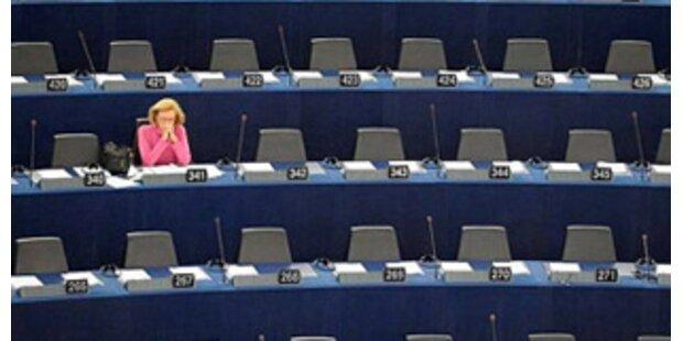 EU-Parlament stellt Anwesenheitsliste ins Internet