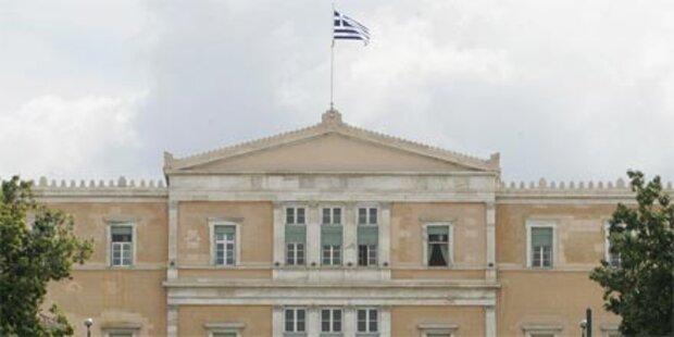 Griechenland verabschiedet Sparpaket