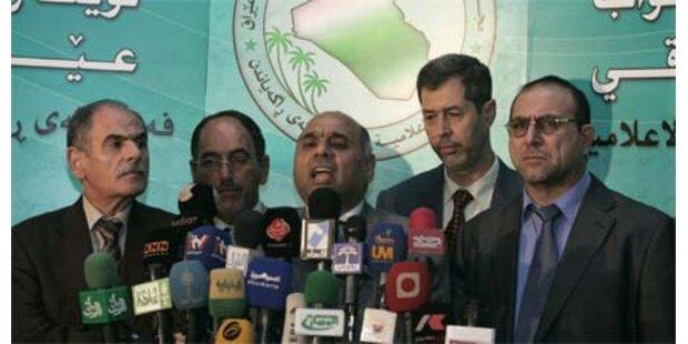 Irak. Parlament stimmt für Wahlgesetz