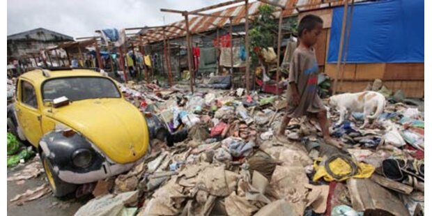 Taifun auf Philippinen - mind. 17 Tote