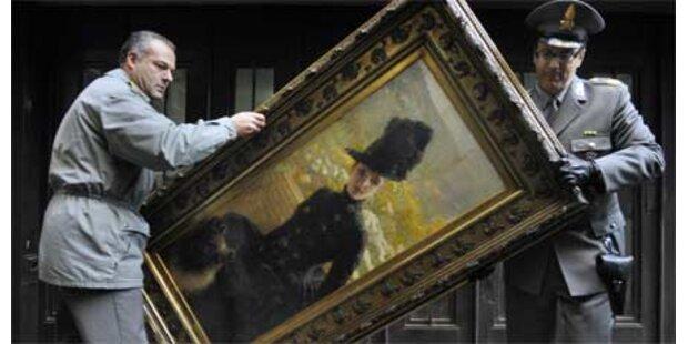 Polizei beschlagnahmt teure Meisterwerke