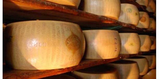 Banken geben Kredite gegen Käse