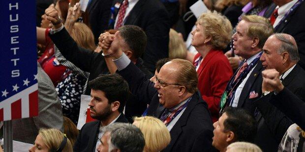 Chaos beim Parteitag der US-Republikaner