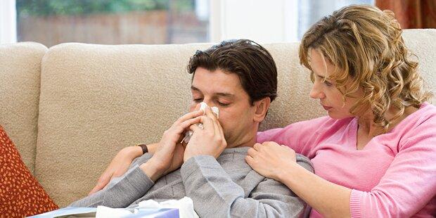 Partner krank? So bleiben Sie gesund