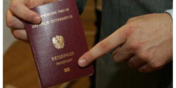 Ösi-Reisepass kostet 1 Mio. Dollar
