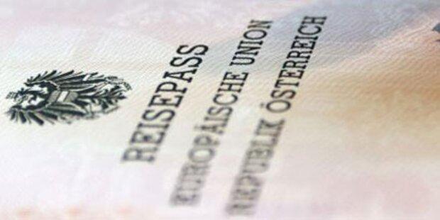 Reisespaß nur mit gültigem Reisepass