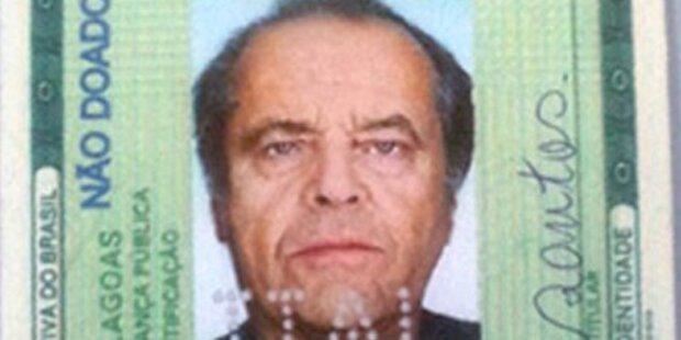 Dreister Pass-Betrug mit Jack Nicholson
