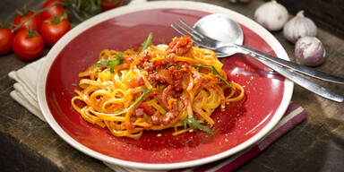 Pesto-rosso-Hersteller sparen bei teuren Zutaten