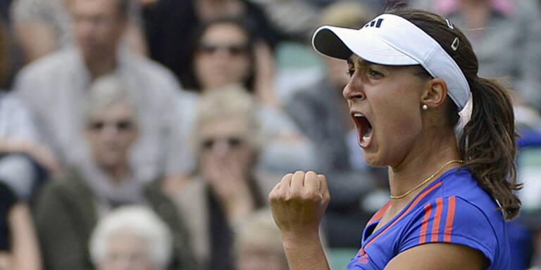 Paszek gewinnt 3. WTA-Titel
