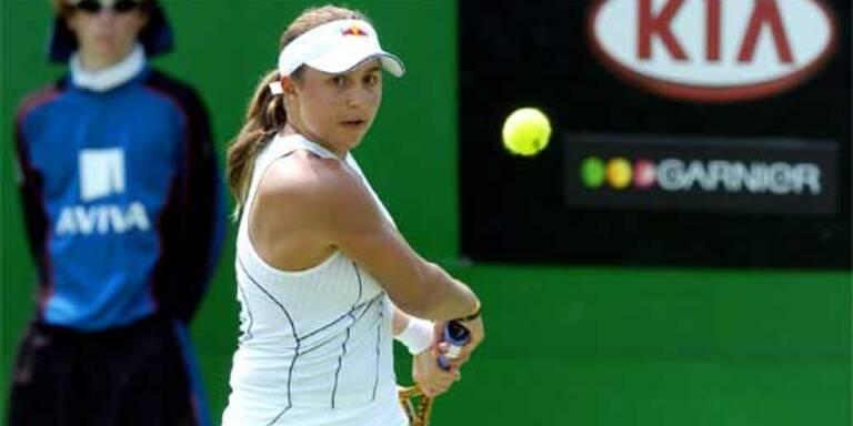 Debüt-Sieg von Tamira Paszek