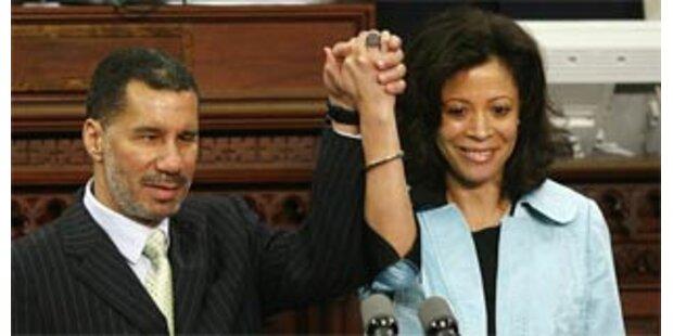 Neuer Gouverneur von NY spricht über Eheprobleme