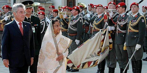Indische Präsidentin auf Besuch in Salzburg