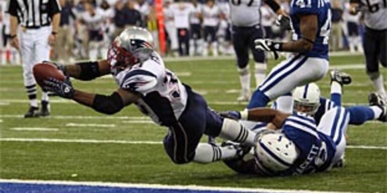 Patriots entzaubern Colts