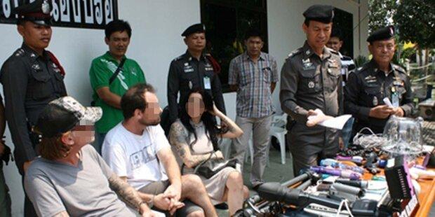Österreicherin in Thailand festgenommen