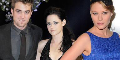 Robert Pattinson, Emilie de Ravin, Kristen Stewart