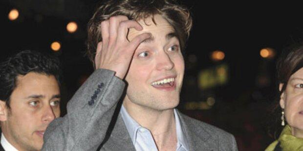 Pattinson: Jung, schön... und verkalkt