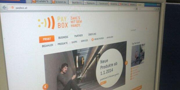 Kundendaten: paybox setzt Überprüfung fort