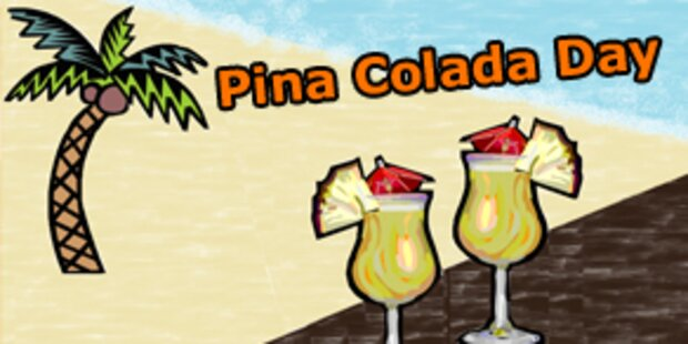 Heute ist Pina Colada Day
