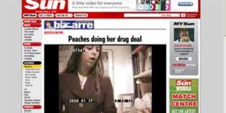 Hat Peaches Geldof Drogen gekauft?