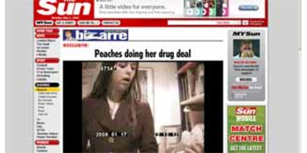 Wurde Peaches Geldof bei Drogenkauf gefilmt?