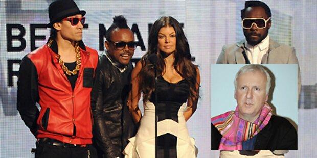 Cameron dreht Black Eyed Peas Film