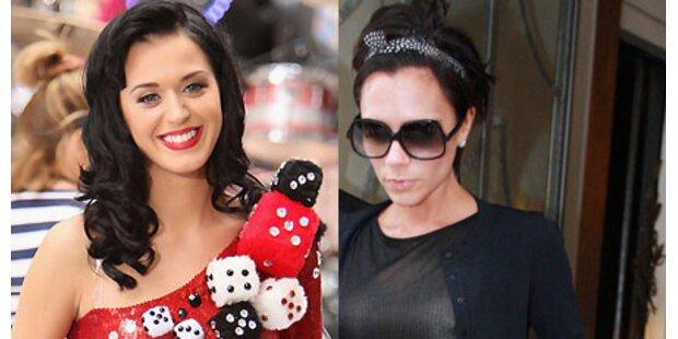 Katy Perry und Victoria Beckham urteilen