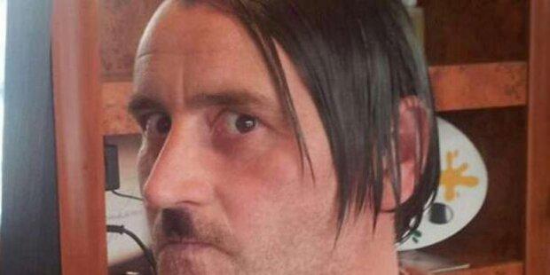 Pegida-Chef postet sich als Hitler