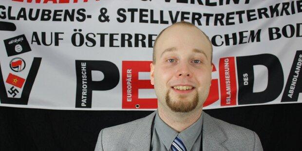 Pegida-Gründer: 'Die meisten Menschen sind Abfall'