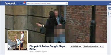 Facebook-Seite zeigt peinlichste Google-Maps-Fotos