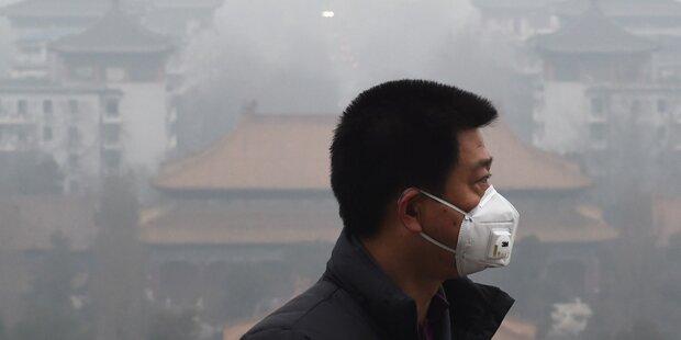 Erstmals Smog-Alarmstufe